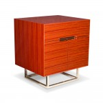 Kotta Side Table - Red Sandalwood 1