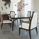 Angular Dining Table & Chairs