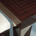 Angular Dining Table - Detail