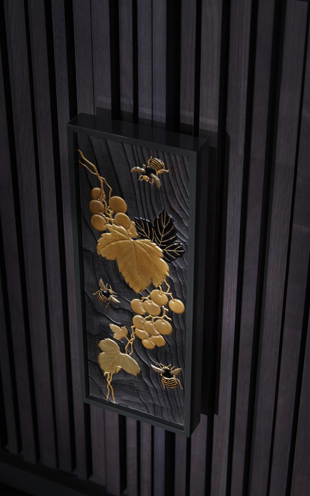 Bumble Bee Cabinet - Detail