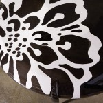 Chrysanthemum Coffee Table - Detail